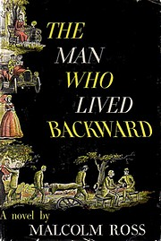Cover of first U.S. edition of 'The Man Who Lived Backward'