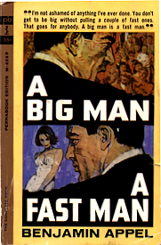 Cover of paperback edition of 'A Big Man, A Fast Man'
