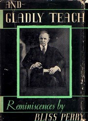 Cover of first U.S. edition of 'And Gladly Teach'