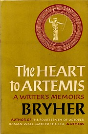 Cover of the first U. K. edition of 'The Heart to Artemis'