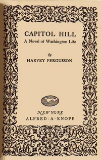 Frontispiece of Borzoi Pocket Books edition of 'Capitol Hill'