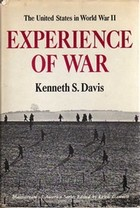 Cover of first U.S. edition of 'The Experience of War'