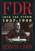 Cover of first U.S. edition of 'FDR: Into the Storm 1937-1940'