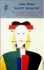 Cover of Harvill Press edition of 'Happy Moscow'