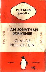 Cover of first UK Penguin paperback edition of 'I Am Jonathan Scrivener'