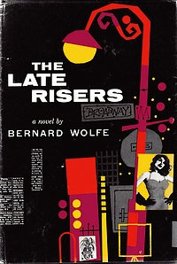 Cover of first U.S. edition of 'The Late Risers'