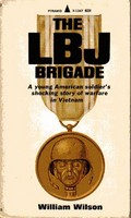 Cover of U.S. paperback edition of 'The LBJ Brigade'