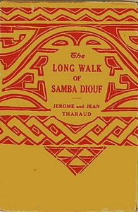 Cover of the first U.S. edition of 'The Long Walk of Samba Diouf'