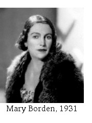 Lady Edward Spears (Mary Borden), 1931