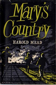 Cover of first U.K. edition of 'Mary's Country'