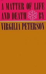 Cover of first U.S. edition of 'A Matter of Life and Death'')