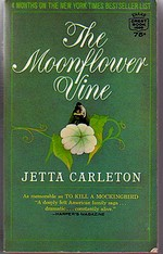 Cover of the first U.S. paperback edition of 'The Moonflower Vine'
