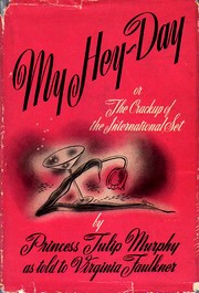 Cover of first U.S. edition of 'My Hey-Day'
