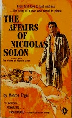 Cover of U.S. paperback edition of 'The Affairs of Nicholas Solon'