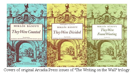 The covers of the original Arcadia Press releases of 'They Were Counted', 'They Were Found Wanting,' and 'They Were Divided'