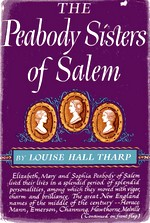 Cover of first U.S. edition of 'The Peabody Sisters of Salem'