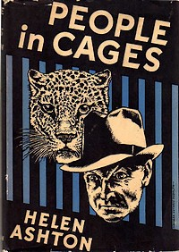 Cover of first U. S. edition of 'People in Cages' by Helen Ashton