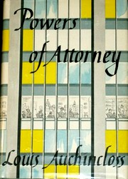 Cover of 'Powers of Attorney' by Louis Auchincloss