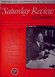 Cover of the 7 September 1940 issue of 'The Saturday Review'
