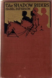 Cover of first edition of 'The Shadow Riders'