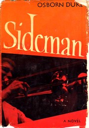 Cover of first U.S. edition of 'Sideman' by Osborn Duke