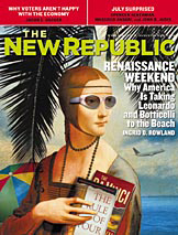 Cover of 'The New Republic' issue of 14.08.2004