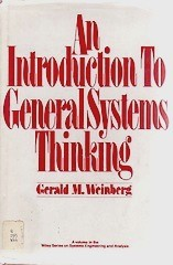 Cover of first U.S. edition of 'An Introduction to General Systems Thinking'