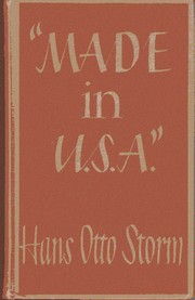 Cover of first US edition of 'Made in U.S.A.'