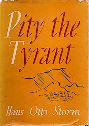 Cover of first UK edition of 'Pity the Tyrant'