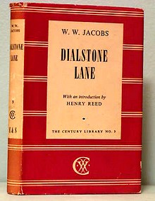 The Century Library edition of 'Dialstone Lane,' by W. W. Jacobs