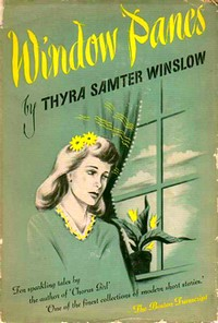 "Cover of 1945 reissue of ""Picture Frames,"" retitled ""Window Panes"""