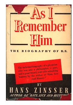 "Cover of first U. S. edition of ""As I Remember Him"""