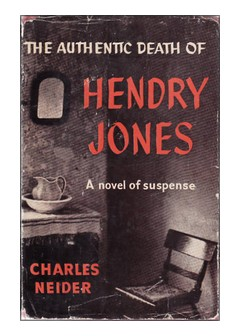 Cover of 'The Authentic Death of Hendry Jones'