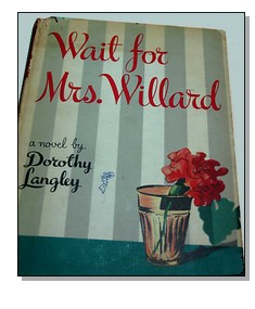 Cover of first U.S. edition of 'Wait for Mrs. Willard'