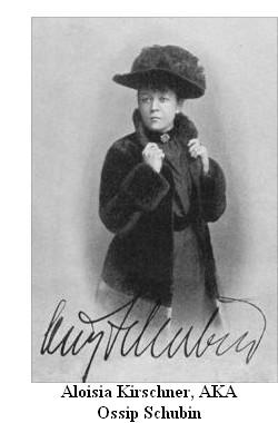Aloisia Kirschner, AKA Ossip Schubin, in middle age