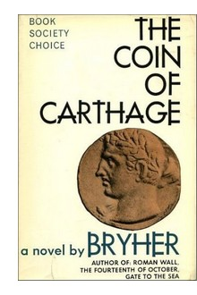 "Cover of UK edition of ""The Coin of Carthage"""