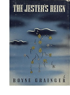Cover of first U. S. edition of 'The Jester's Reign' by Boyne Grainger
