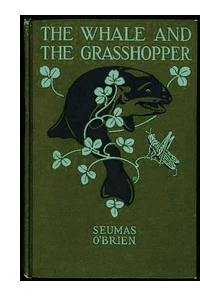 Cover of first U.S. edition of 'The Whale and the Grasshopper'