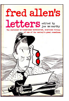 Cover of first US edition of 'Fred Allen's Letters'