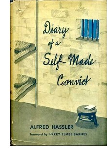Cover of the first US edition of 'Diary of a Self-Made Convict'