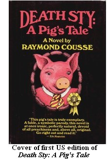 Cover of first US edition of 'Death Sty: A Pig's Tale'