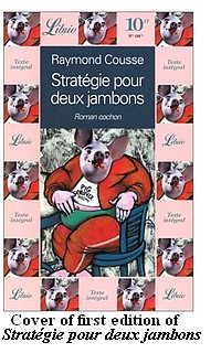 Cover of first French edition of 'Death Sty' (original title, 'Strategie pour deux jambons')