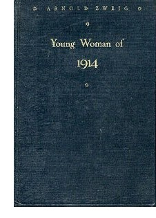 Cover of first US edition of 'Young Woman of 1914'