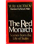 Cover of first U.S. edition of 'The Red Monarch'