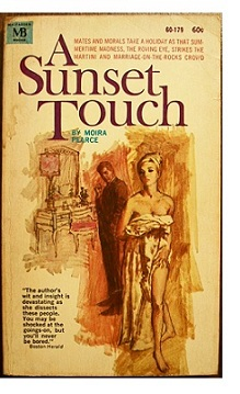 Cover of US paperback edition of 'A Sunset Touch'