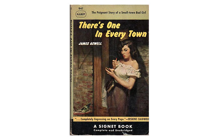 Cover of 1952 Signet paperback edition of 'There's One in Every Town'