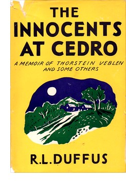 "Cover from first U.S. edition of ""The Innocents at Cedro"""