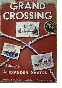 Cover of first U.S. edition of 'Grand Crossing'