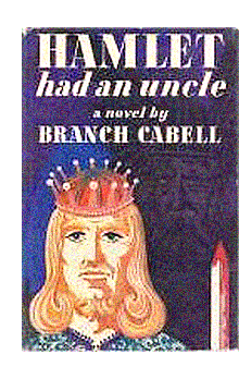 "Cover of first U.S. edition of ""Hamlet Had an Uncle"""