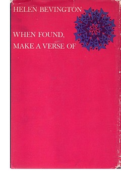 Cover of 'When Found, Make a Verse Of'